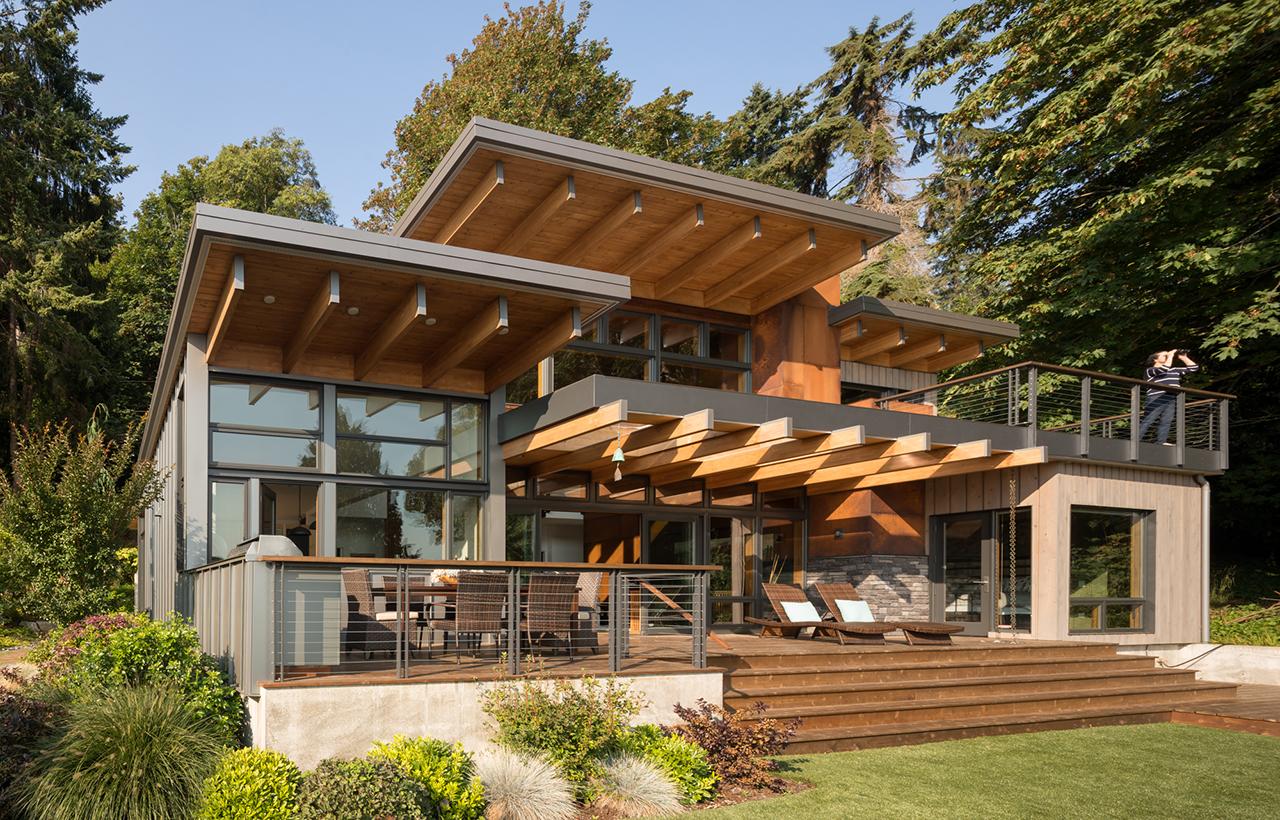 Bainbridge Island Retreat. Coates Design Architects
